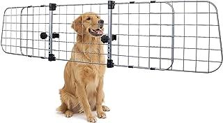 AmazonBasics Adjustable Dog Car Barrier - 12-Inch, Silver