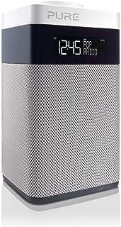 Pure POP Midi digitale radio (DAB/DAB+ digitale en FM-radio, pop-knop voor volumeregeling, alarmfuncties, keuken- en slaap...