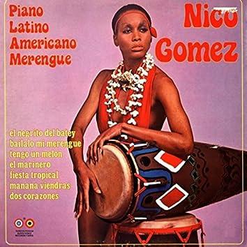 Piano Latino Americano Merengue