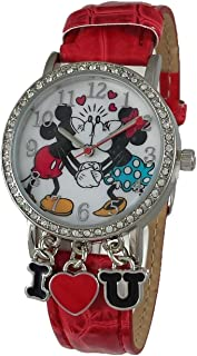 Minnie and Mickey Mouse I Love You Analog Watch