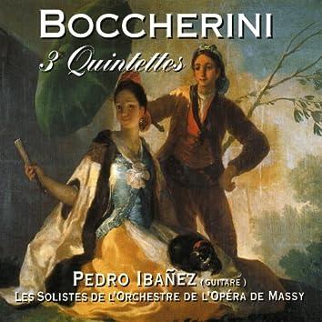 Boccherini 3 Quintettes