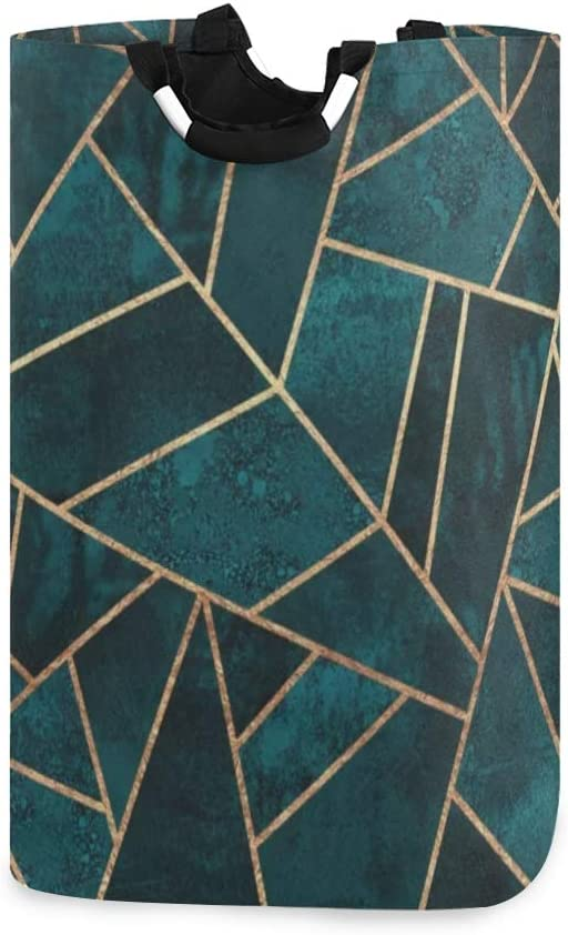 Manufacturer regenerated product Laundry Hamper Abstract Nature Coll Green Basket Max 89% OFF Emerald