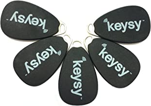Keysy Rewritable RFID Keyfobs (5-Pack)