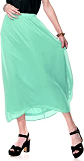 Best chiffon mint skirt Reviews