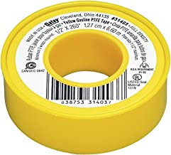 Oatey 31403 Gas Line Thread Seal Tape, 1/2-Inch x 260-Inch, Yellow