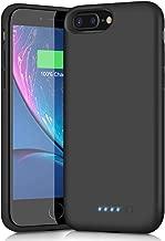 Battery Case for iPhone 6s Plus/6 Plus/7 Plus/8 Plus,8500mAh Portable Charging Case External Battery Pack for iPhone 6s Plus/6 Plus/7 Plus/8 Plus Rechargeable Charger Case Backup Power Bank(5.5 inch)