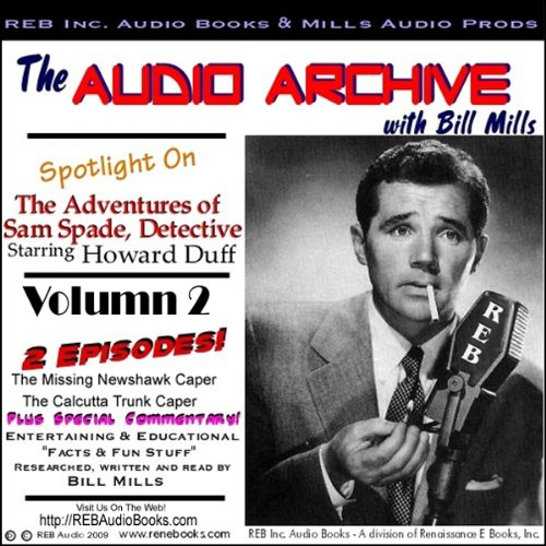 A Sam Spade Audio Double-Feature Starring Howard Duff, Volume 2 audiobook cover art