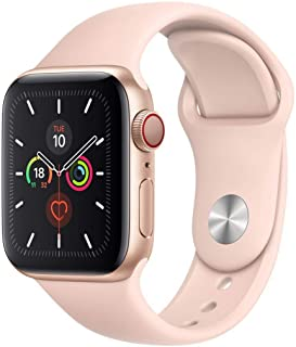Apple Watch Series 5 40mm Gold AL Pink Sand Sport Band (GPS+Cell) Model A2156