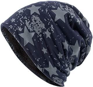 Winter Hats for Women Men Warm Baggy Camo Crochet Wool Ski Beanie Skull Caps Hat
