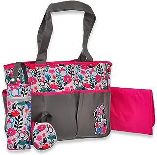 Disney Minnie Mouse Floral Tote 4-Piece Diaper Bag - Multi, one Size