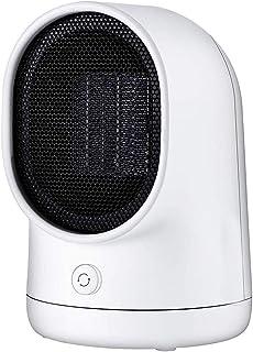 Calefactor de Aire Caliente Portatil, mini calentador de ventilador de cerámica personal de 500 vatios con protección segura contra caídas y sobrecalentamiento para hogar en dormitorio de la oficina