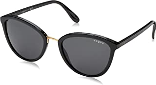 Vogue VO5270S-W44/87-57 Women's Plastic Sunglasses, Black - 57 mm