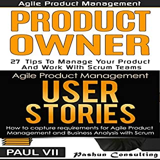 Agile Product Management Box Set     Product Owner 27 Tips & User Stories 21 Tips              Autor:                                                                                                                                 Paul VII                               Sprecher:                                                                                                                                 Randal Schaffer                      Spieldauer: 2 Std. und 7 Min.     1 Bewertung     Gesamt 5,0