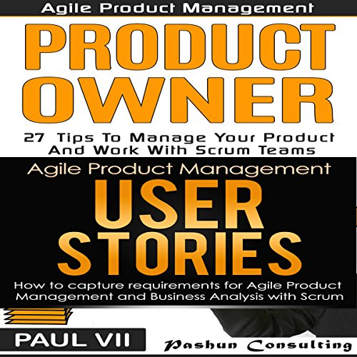 Agile Product Management Box Set audiobook cover art
