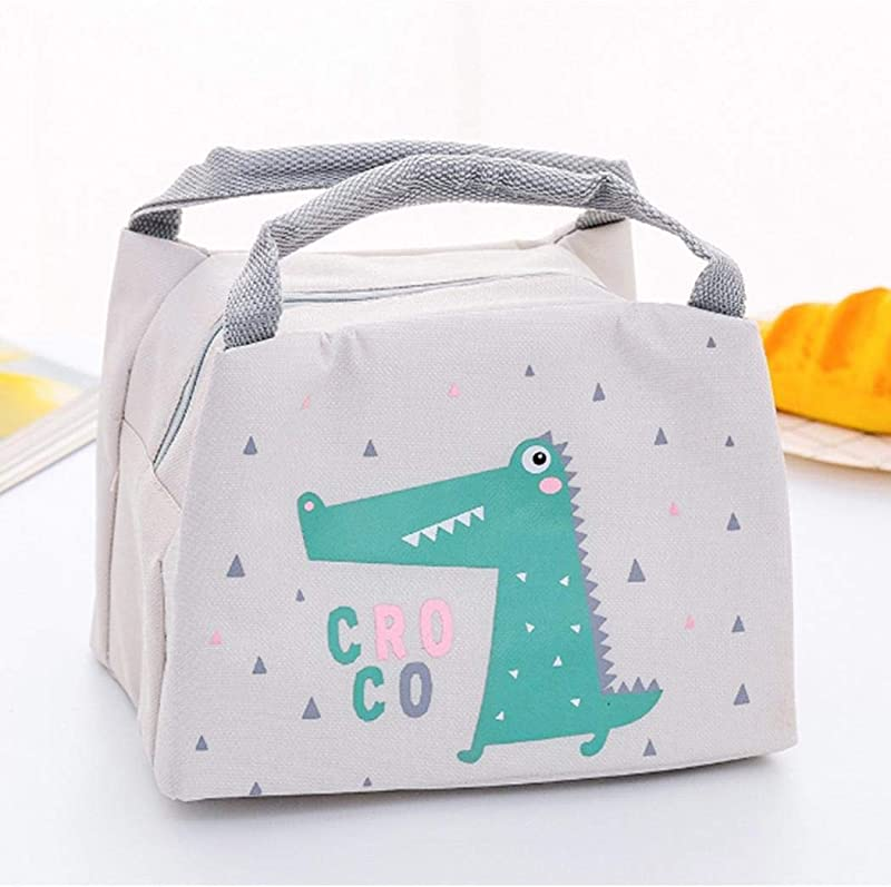 Etuoji Hand Held Creative Insulation Lunch Bag Tote Student Thermal Lunch Bag Lunch Bags