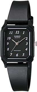 Casio Casual Watch Analog Display Quartz For Women Lq-142-1B, Black Band
