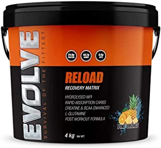 RELOAD INJECTION EVOLVE NUTRITION 4KG ANABOLIC INJECTION CARBS RECOVERY