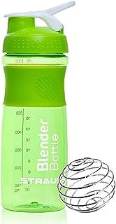 زجاجة بليندر شيكر من ستراس، 760 مل، أخضر