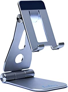 Halerz Phone Stand For desk, Mobile Stand and Phone Holder Compatible with iPhone 12, iPad, Samsung Note 20, Tablets 7-1...