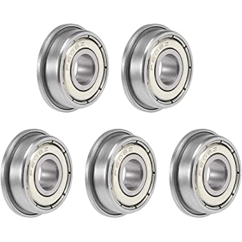 5pcs F629zz Metric Metal FLANGE Ball Bearings Bearing 9*26*8 F629z 9x26x8mm