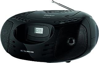 Boombox, PB119N, entradas CD-RW, MP3 e WMA, 5W RMS, Bivolt, Philco