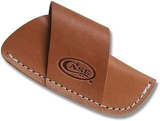Case 50232 Large Leather Side Draw Belt Sheath