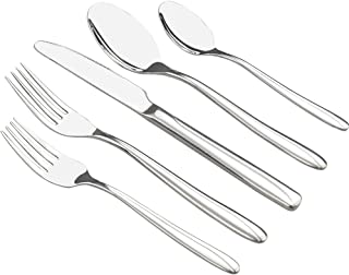 Anbers 60-Piece Stainless Steel Flatware Sets, Service for 12