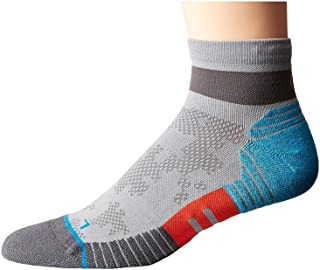 Cadence Quarter Grey Men's Quarter Length Socks Shoes