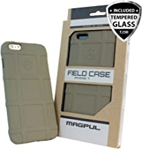 Case for iPhone 7 / iPhone 8, with TJS [Tempered Glass Screen Protector], Magpul [Field] MAG845 Polymer Case Cover Retail Packaging Compatible Apple iPhone 7/iPhone 8 4.7