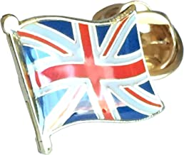 Small Union Jack Lapel Pin Badge Ideal for your Jacket or Coat