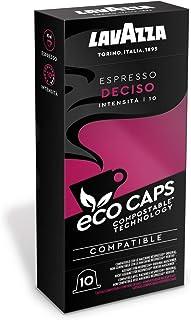 Lavazza Eco Kaffeekapseln - Espresso Deciso - Nespresso kompatibel - 50 Kapseln - 5er Pack 5 x 53g