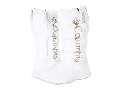Columbia Paninarotm Omni-Heattm Tall (White/Warm Gold) Women