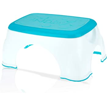 Nuby Step Up Stool, Aqua