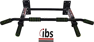 IBS Wall Mounting Pull up Bar Solid Fitness Accessory for Home Gym (Color-Black)