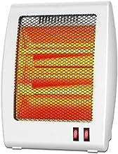 LQ&XL Calefactores y radiadores halógenos eléctrico Estufa halógena Calor Halógeno 800W (Control de Temperatura, Funcion Ventilador, Proteccion sobrecalentamiento, Anti-vuelco) C