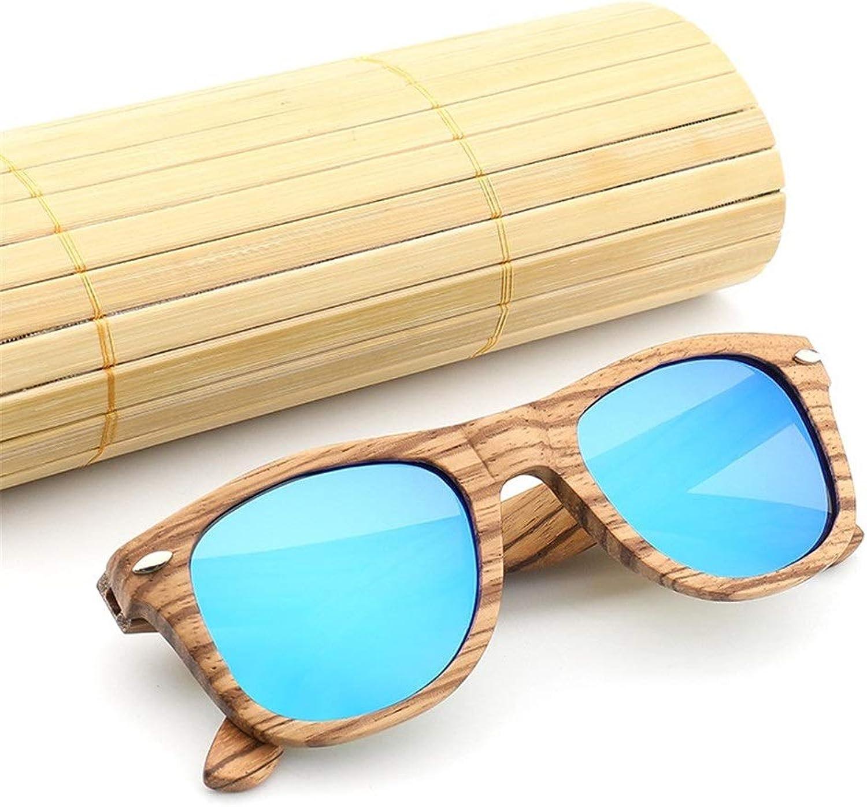 Vintage Retro Handmade Bamboo Sunglasses Polarized Sunglasses Classic Men Women for Unisex Uv400