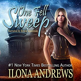 One Fell Sweep     Innkeeper Chronicles, Book 3              Auteur(s):                                                                                                                                 Ilona Andrews                               Narrateur(s):                                                                                                                                 Renee Raudman                      Durée: 10 h et 41 min     19 évaluations     Au global 4,8