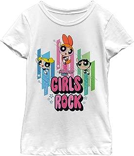 The Powerpuff Girls Girls' Hero Girls Rock T-Shirt