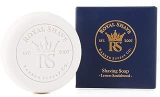 RoyalShave Shaving Soap Refill - Lemon Sandalwood Scent!