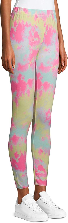 No Boundaries Tie Dye Print Ankle Legging