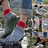 Schnittfeste Socken mit 5 Zehen, bequem, rutschfest, für Yoga, Wandern, Laufen, Klettern, Barfuß-Socken, Outdoor