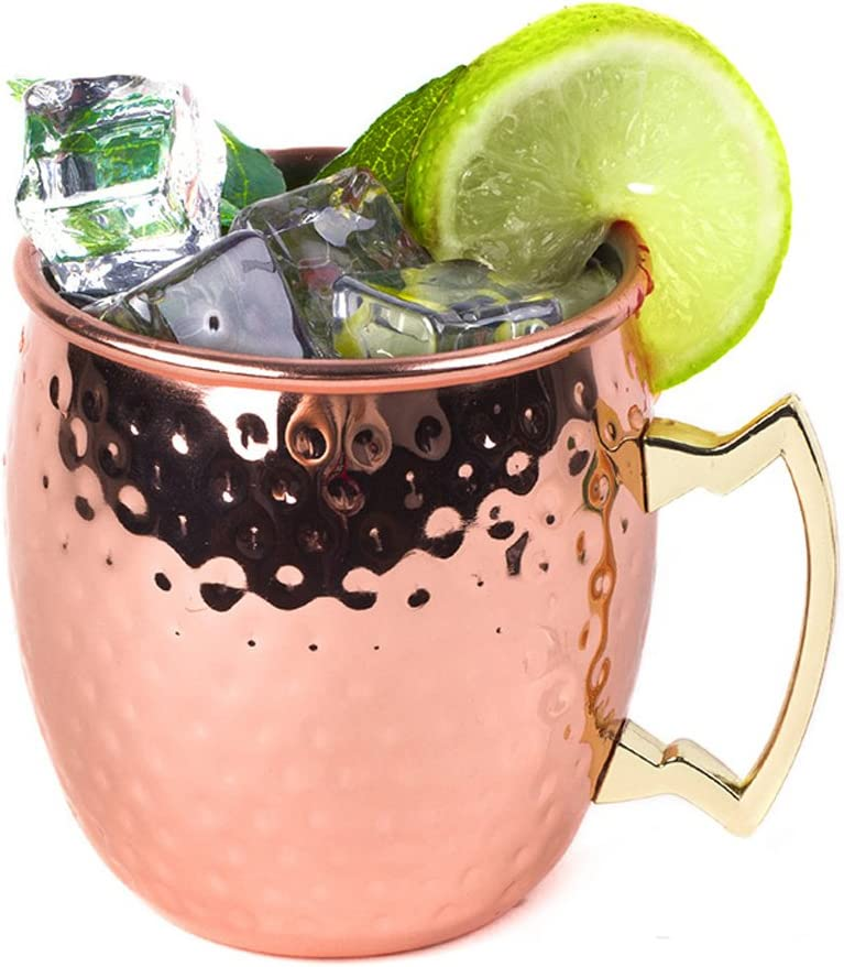 Vivian Moscow Mule Mugs Copper Cups Arlington Mall Rapid rise 18.6o Cocktail Plated 530ml