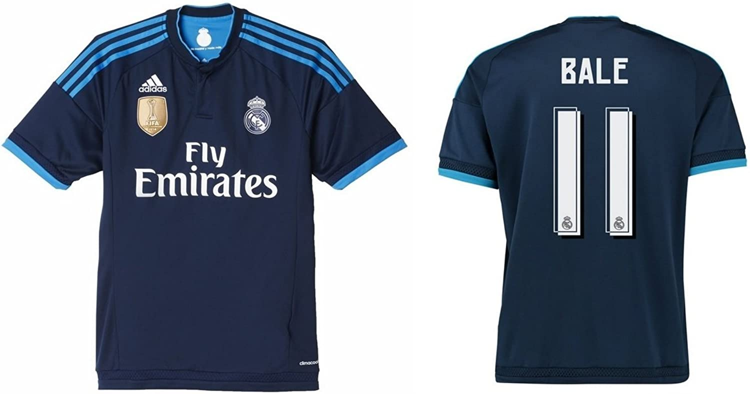 Trikot Kinder Real Madrid 2015-2016 Third WC - Bale 11