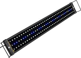 NICREW ClassicLED Luz LED Acuario, Pantalla LED Acuario, Iluminación LED para Acuarios Plantados Lámpara LED para Peceras 75-105 cm, 18W, 7000K