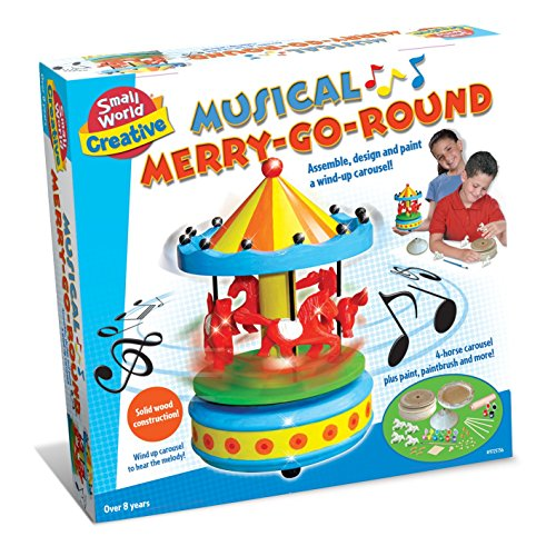 Small World Toys Creative - Musical Merry-Go-Round