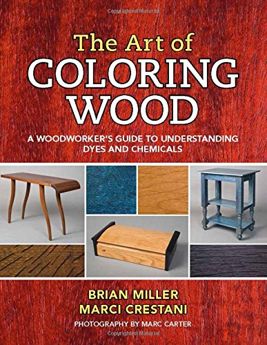 The Art of Coloring Wood: A Woodworker's Guide to Understanding Dyes and Chemicals