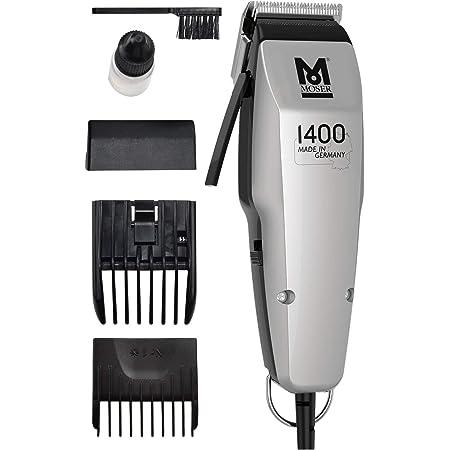 Moser 1400 Silver Edition - Cortapelos con cable, blanco