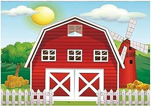 barn party backdrop