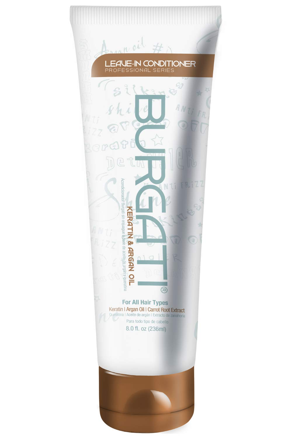 Burgati Leave-In Conditioner For Ranking TOP15 Detangling Smoothing Omaha Mall Moisturi