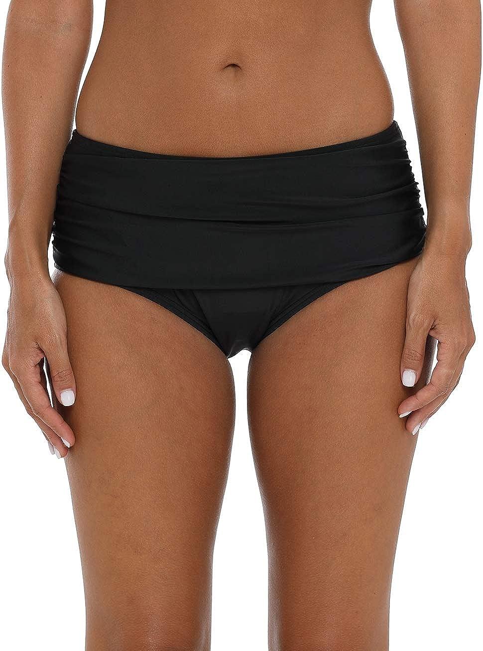 ATTRACO Womens Bikini Bottoms Swim Bottoms Adjustable Side Tie Bathing Suits